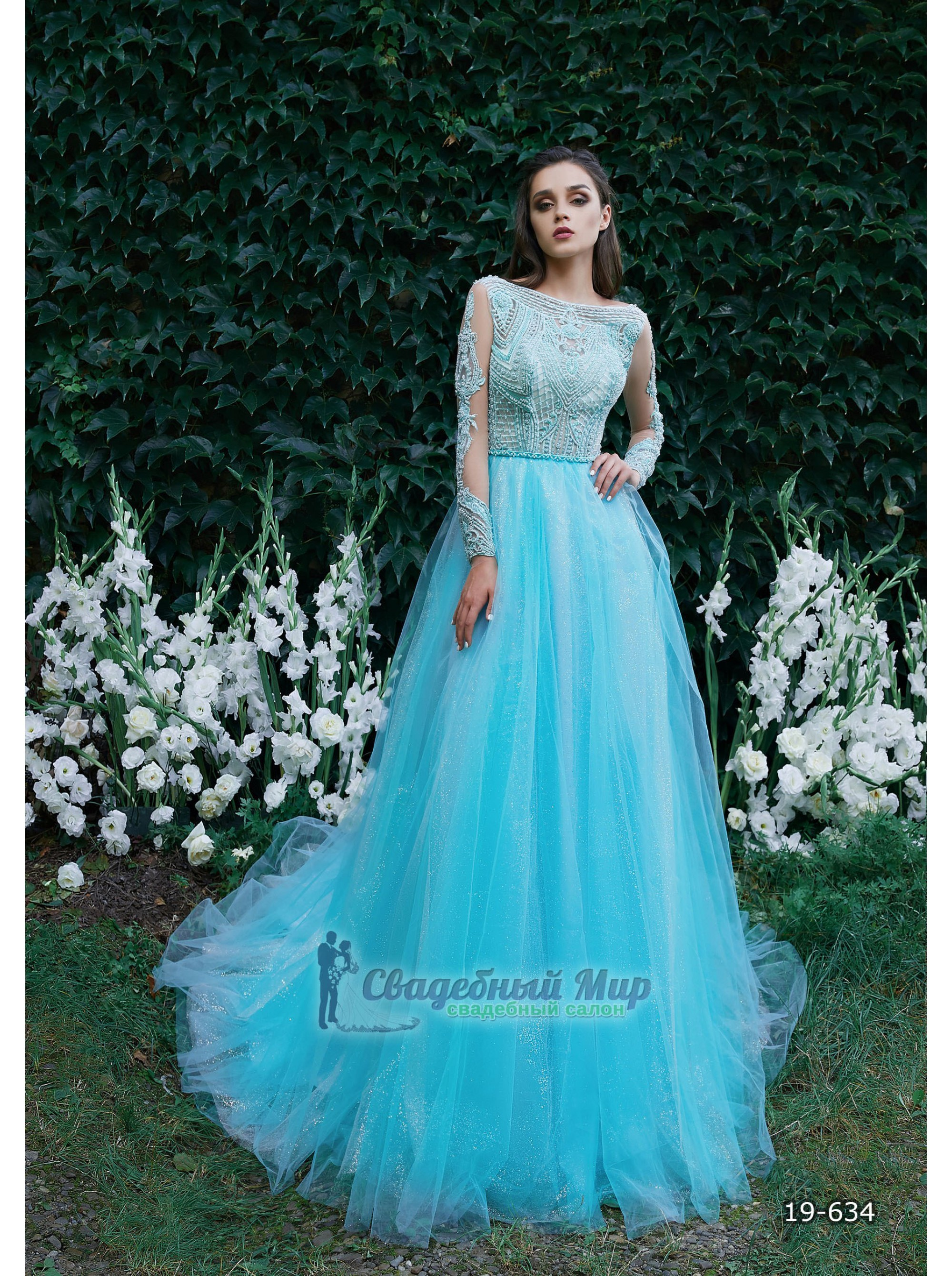 Вечернее платье 19-634