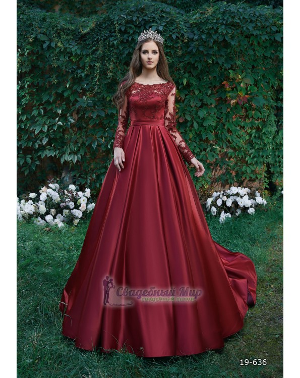 Вечернее платье 19-636