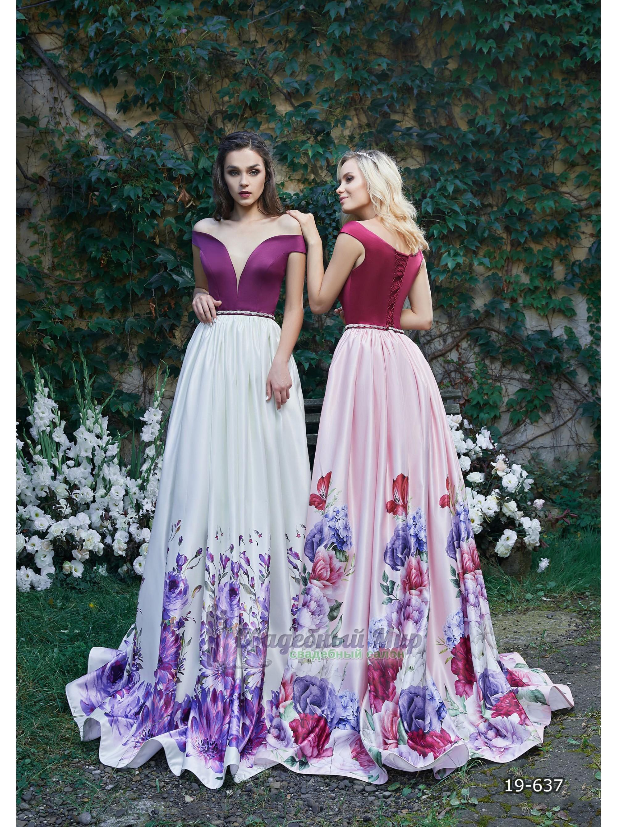 Вечернее платье 19-637