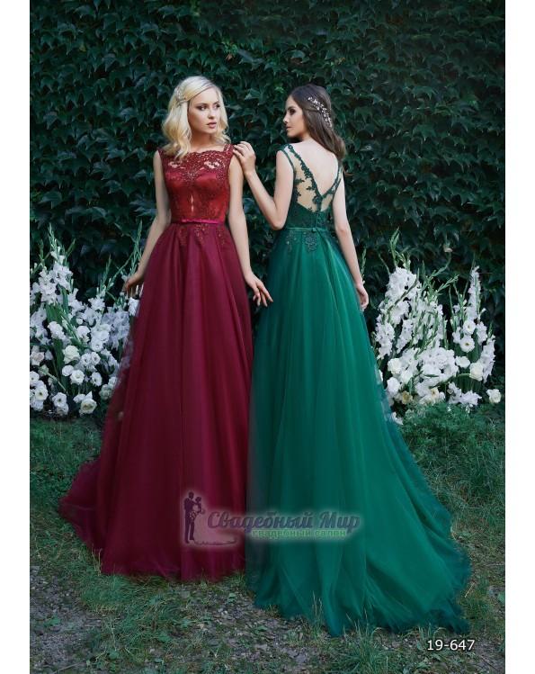 Вечернее платье 19-647