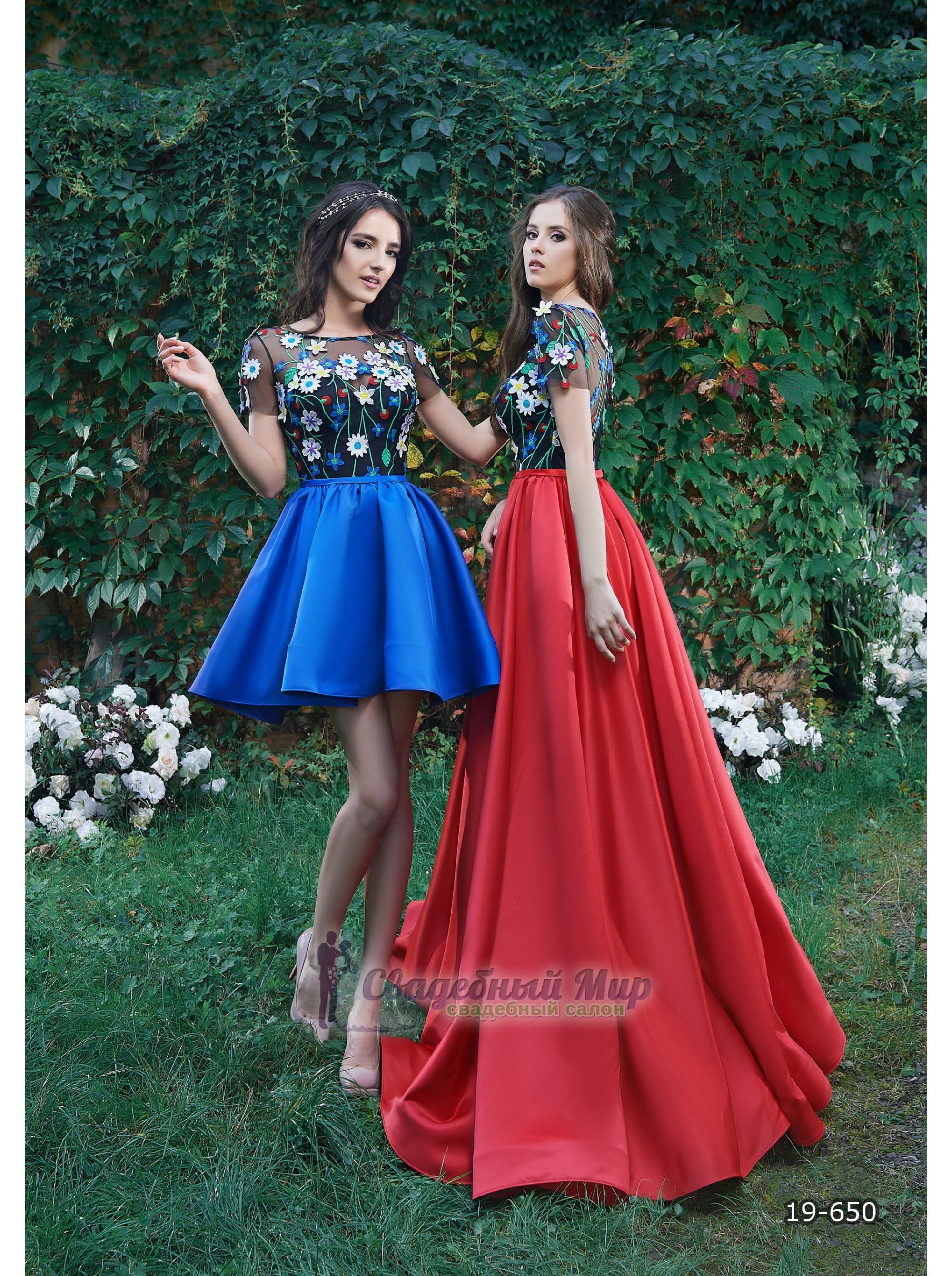 Вечернее платье 19-650