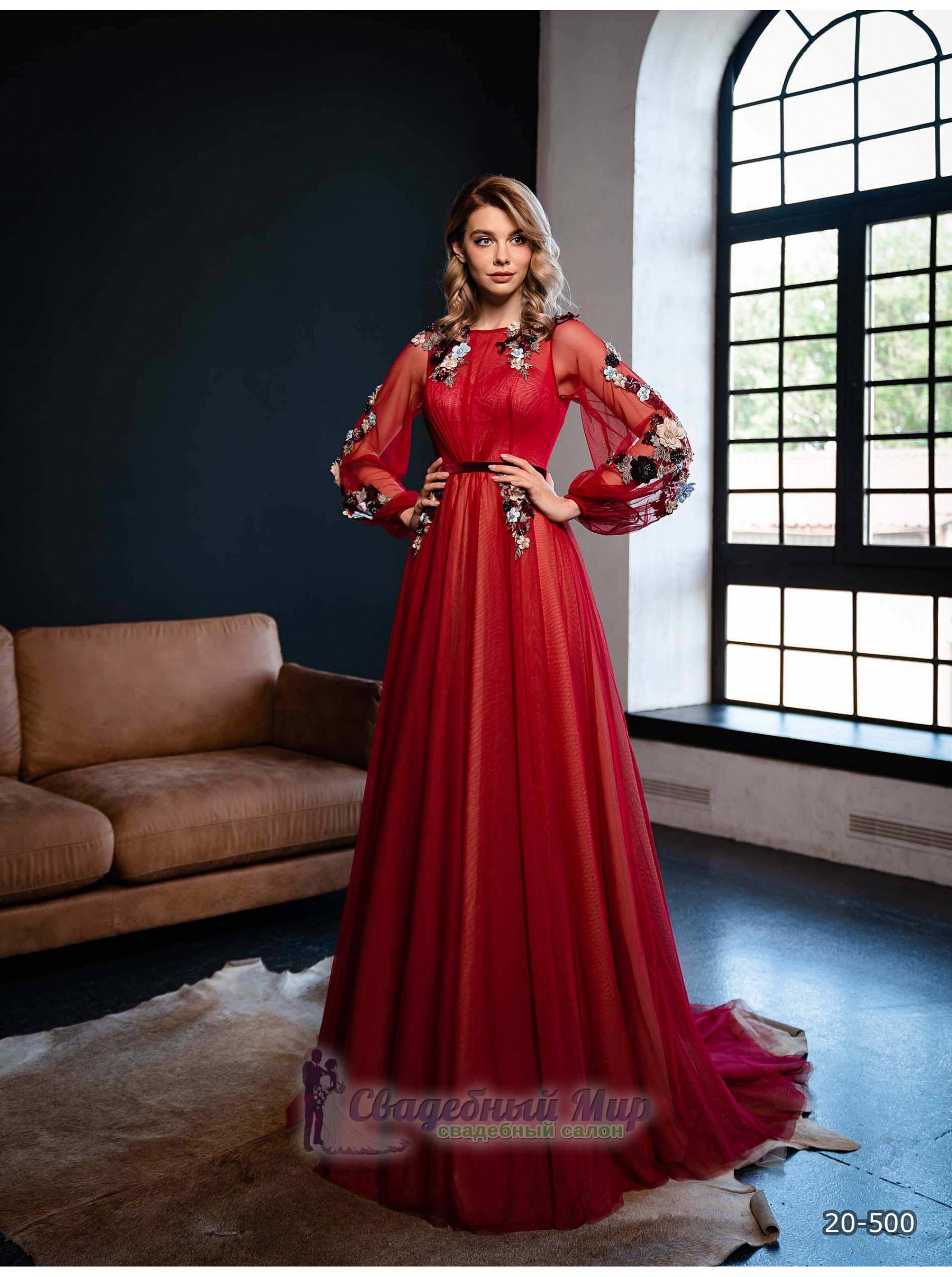Вечернее платье 20-500