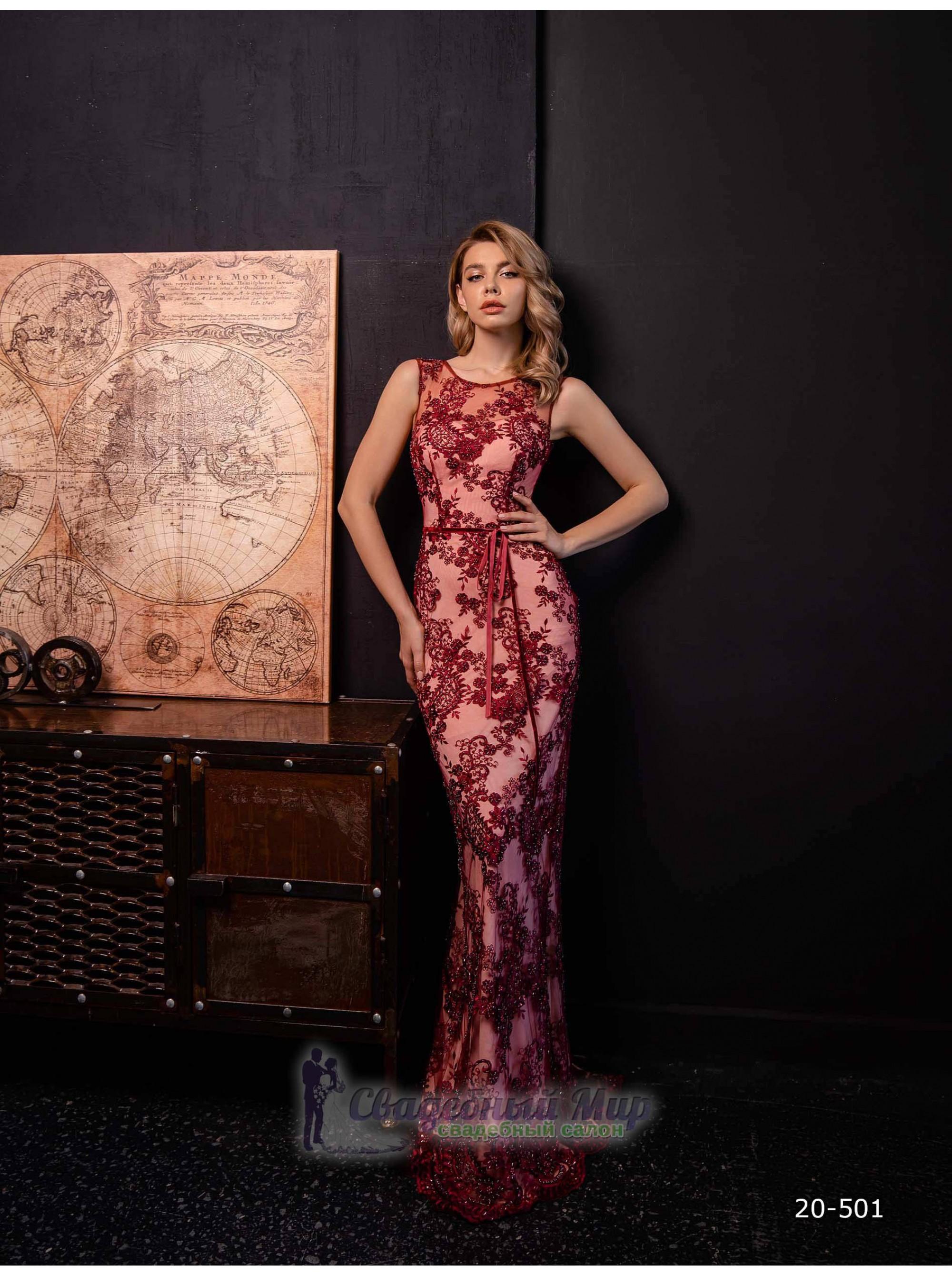 Вечернее платье 20-501