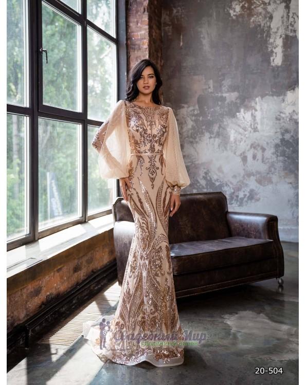 Вечернее платье 20-504