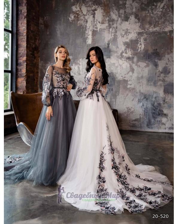 Вечернее платье 20-520