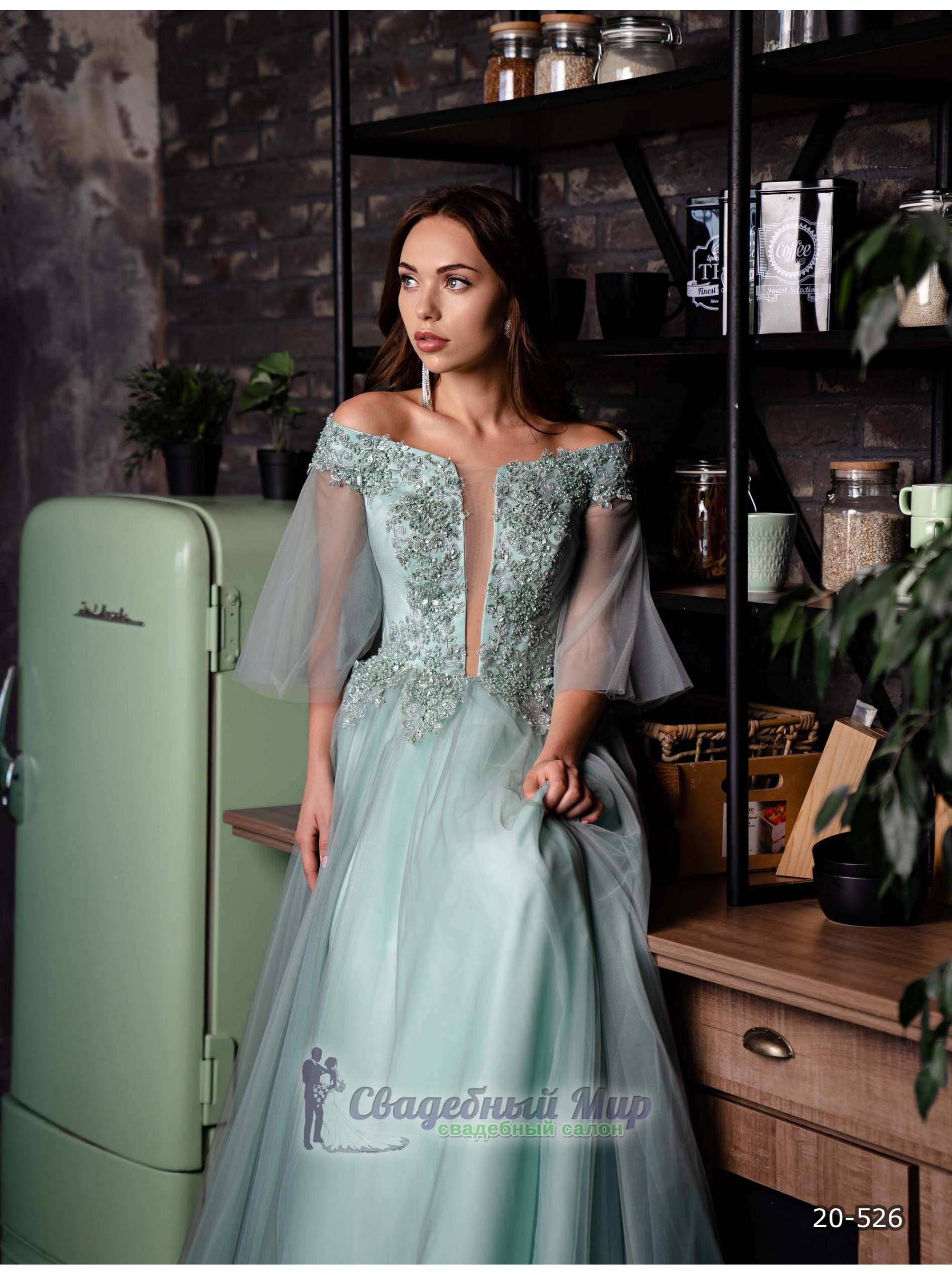 Вечернее платье 20-526