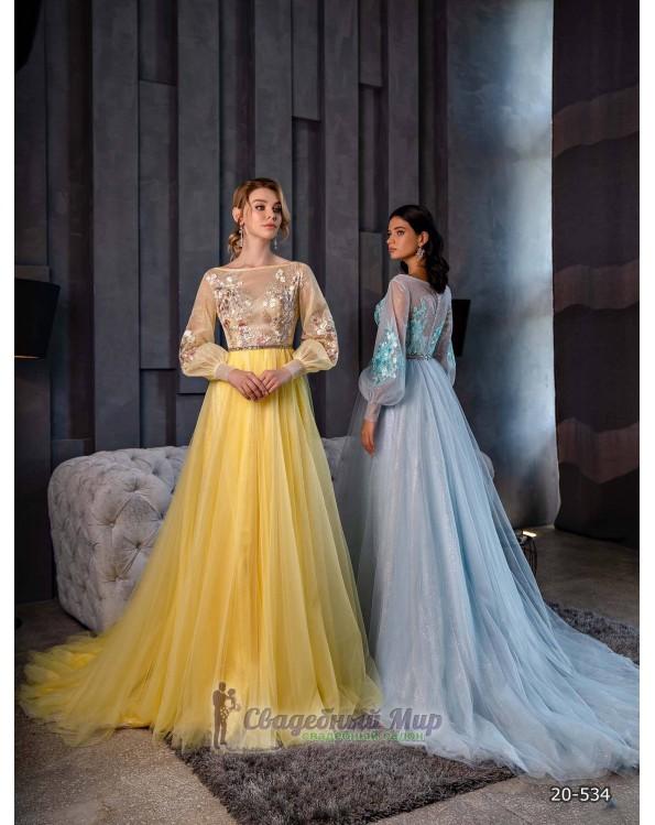 Вечернее платье 20-534