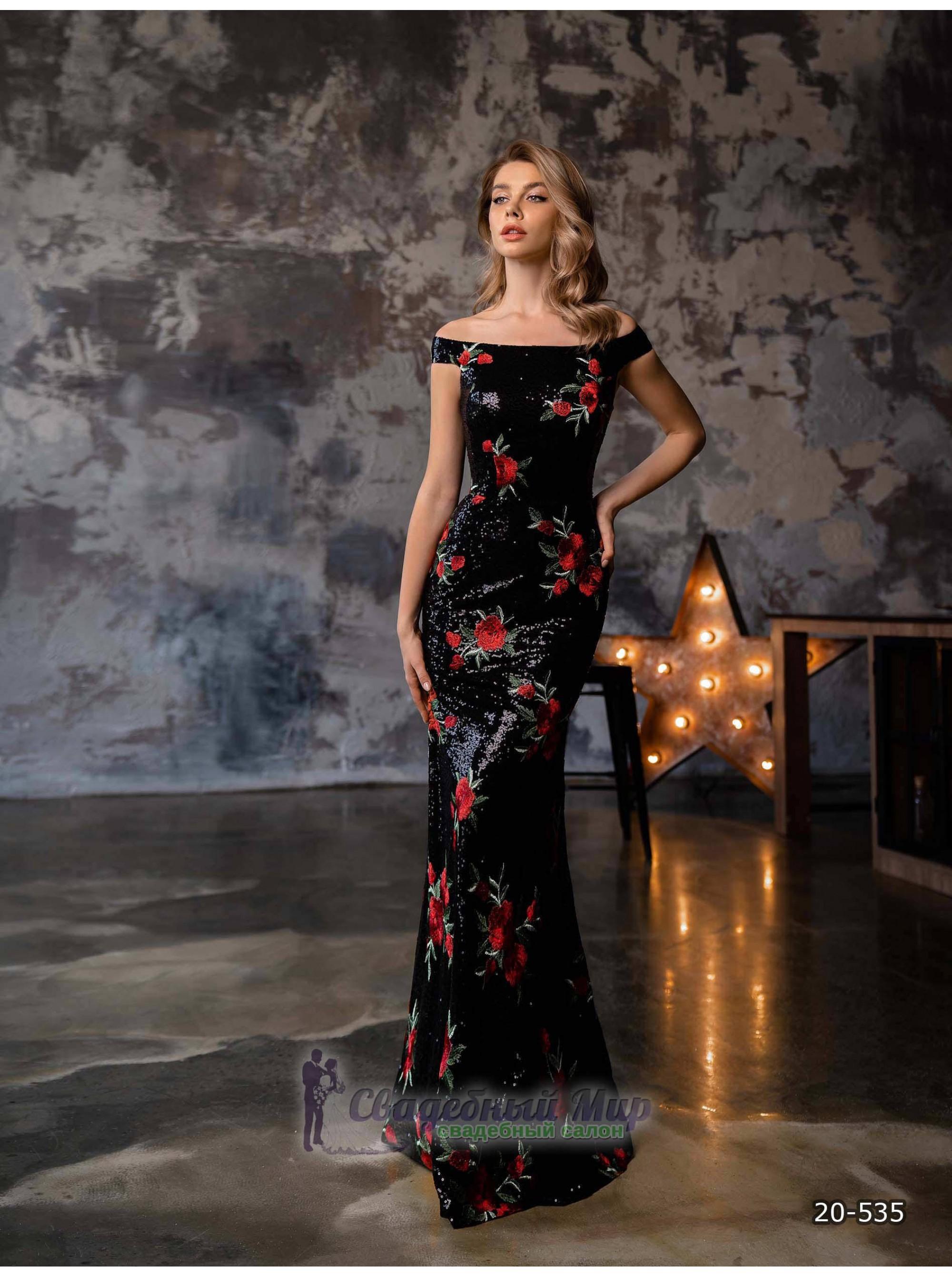 Вечернее платье 20-535