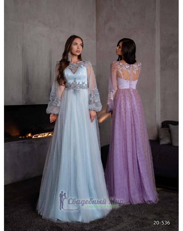 Вечернее платье 20-536