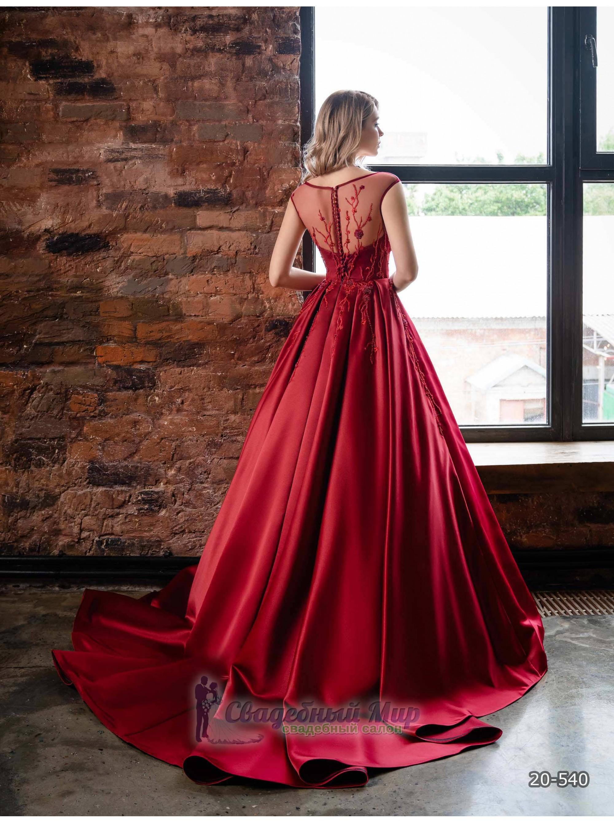 Вечернее платье 20-540