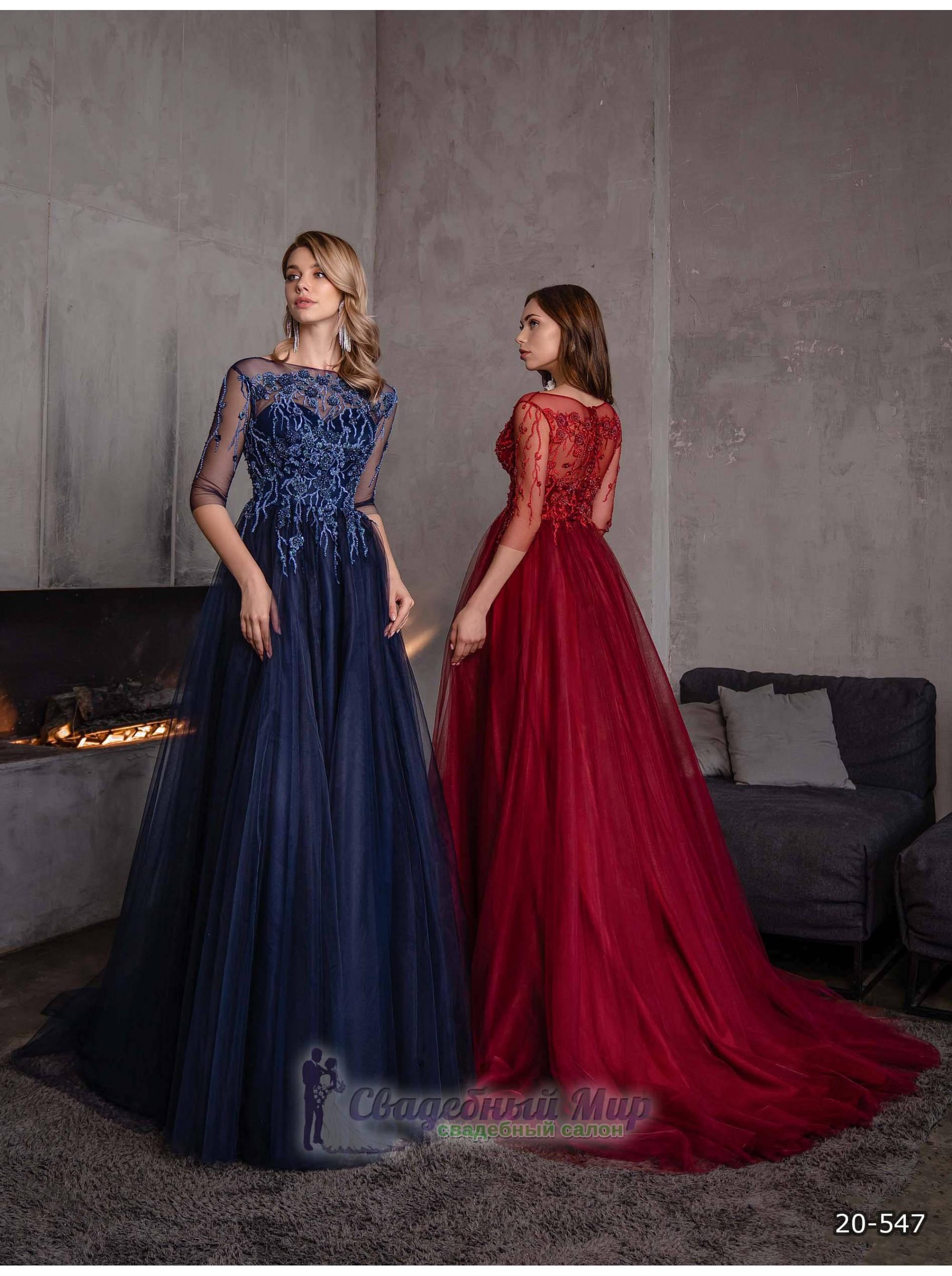 Вечернее платье 20-547