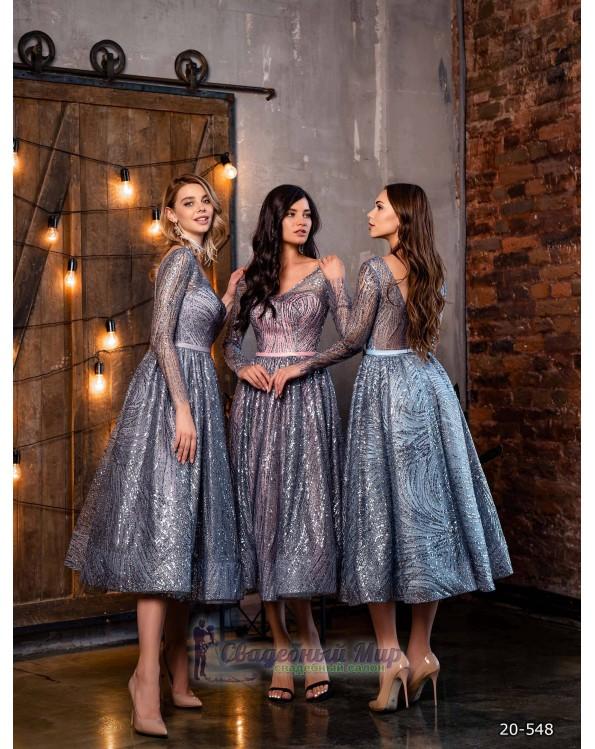 Вечернее платье 20-548