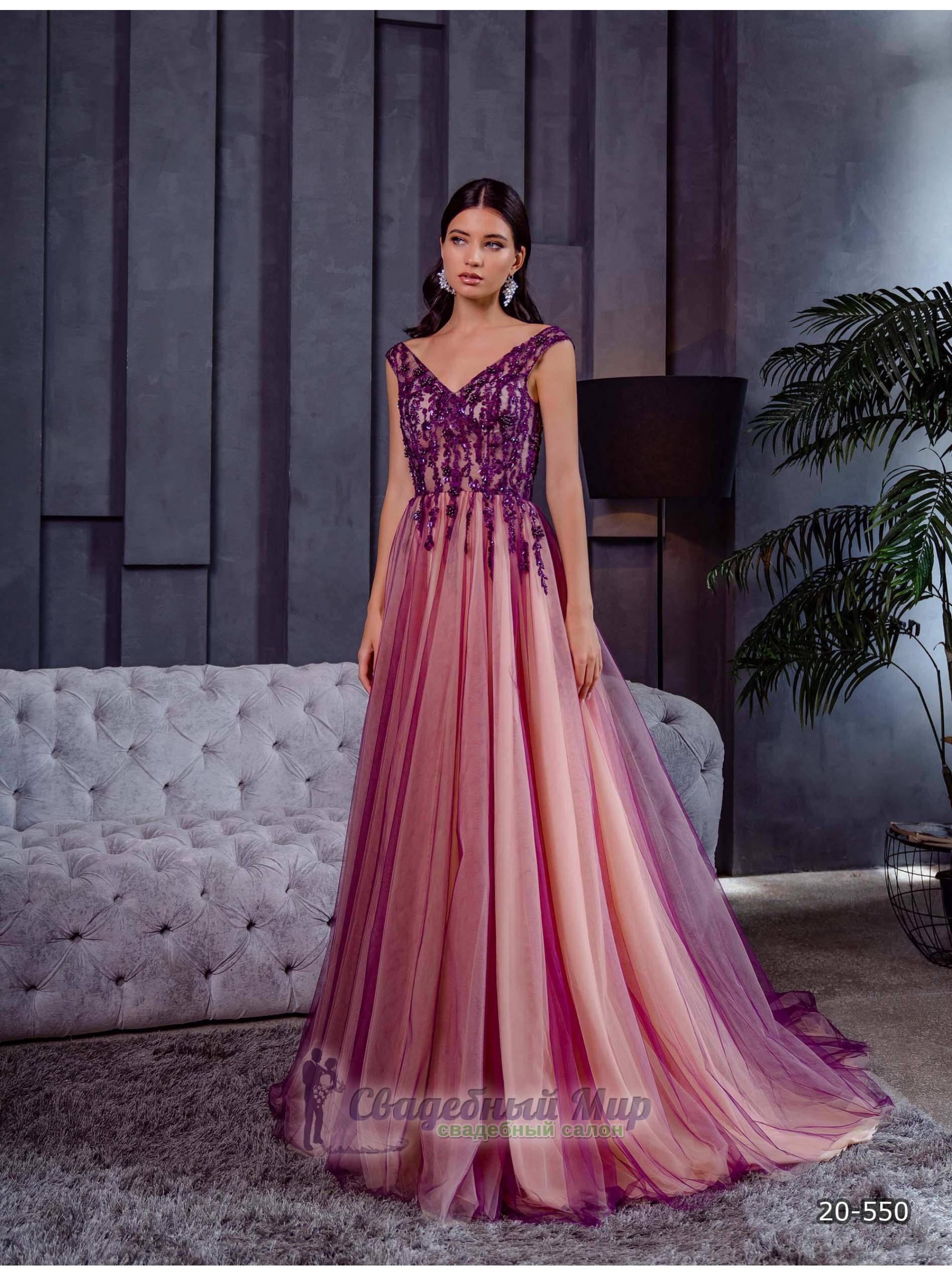 Вечернее платье 20-550