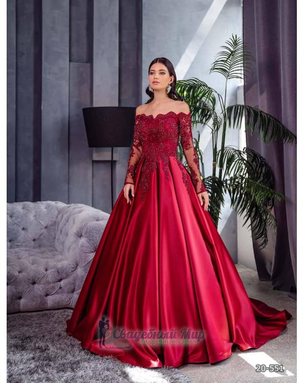 Вечернее платье 20-551