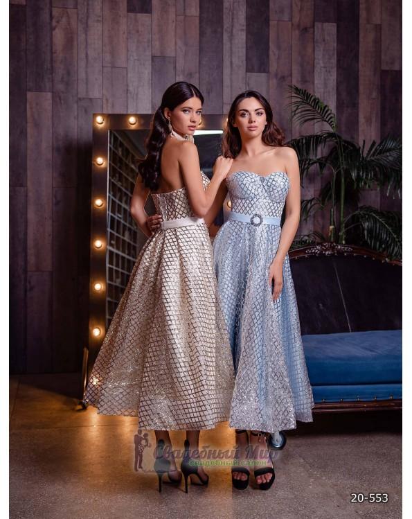 Вечернее платье 20-553