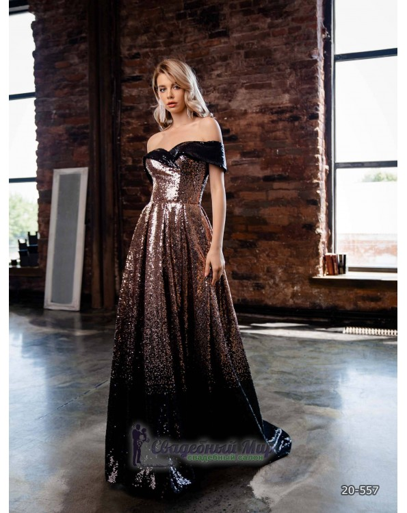 Вечернее платье 20-557