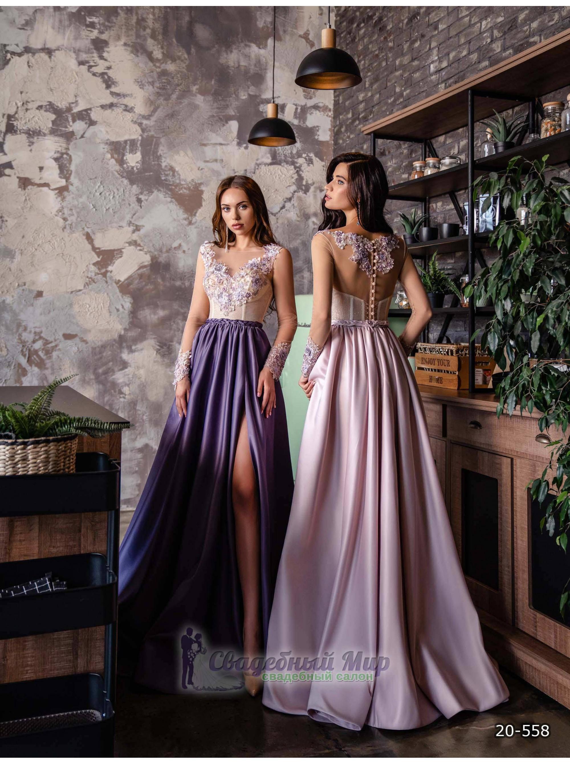 Вечернее платье 20-558