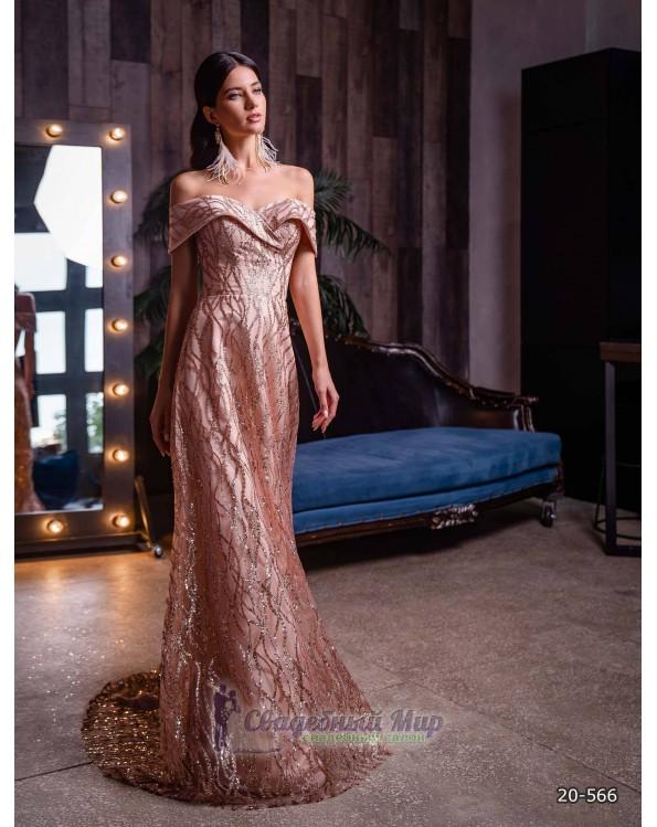 Вечернее платье 20-566