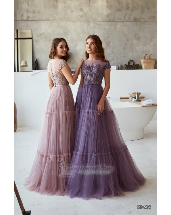 Вечернее платье 21-504