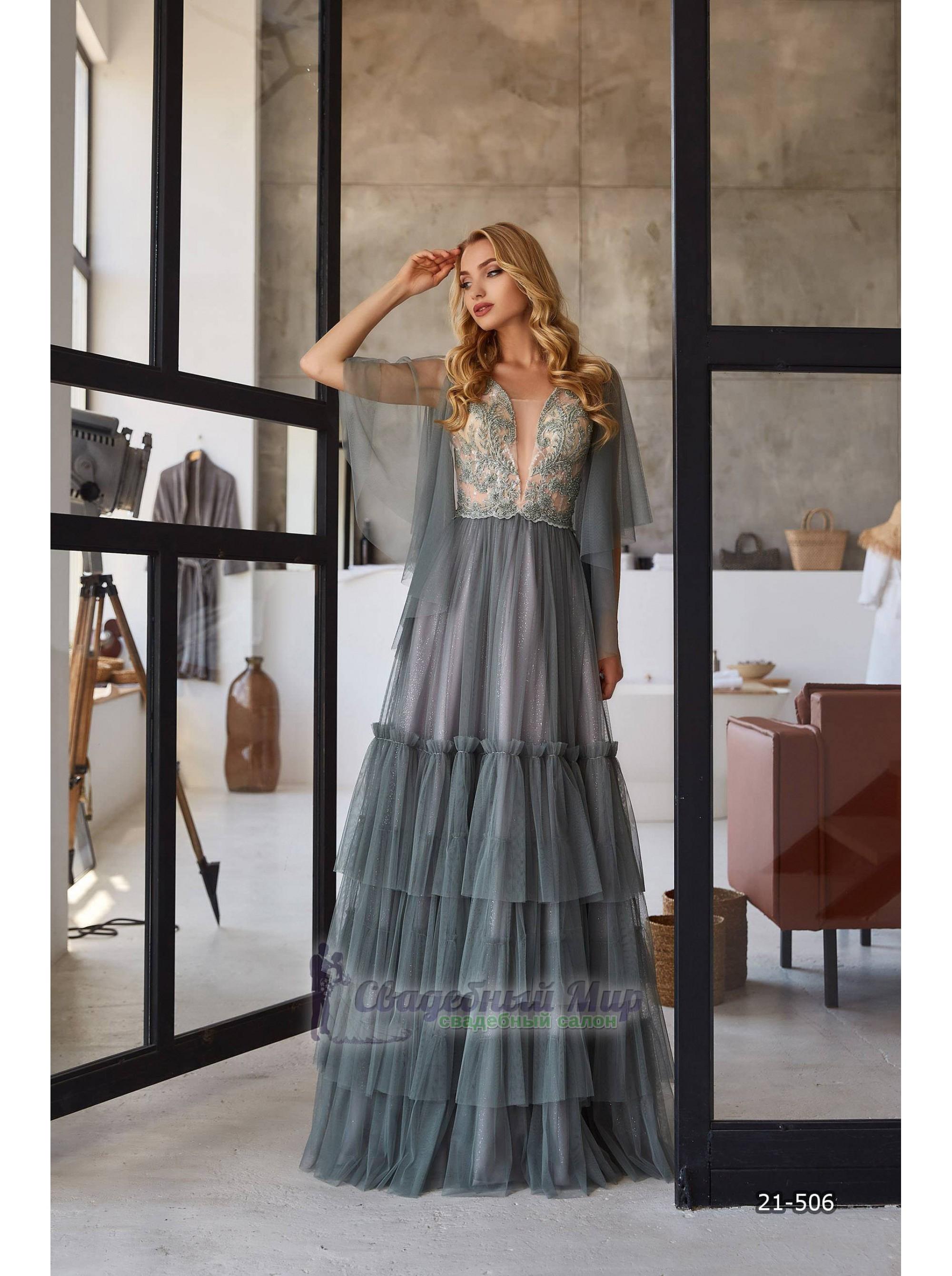 Вечернее платье 21-506