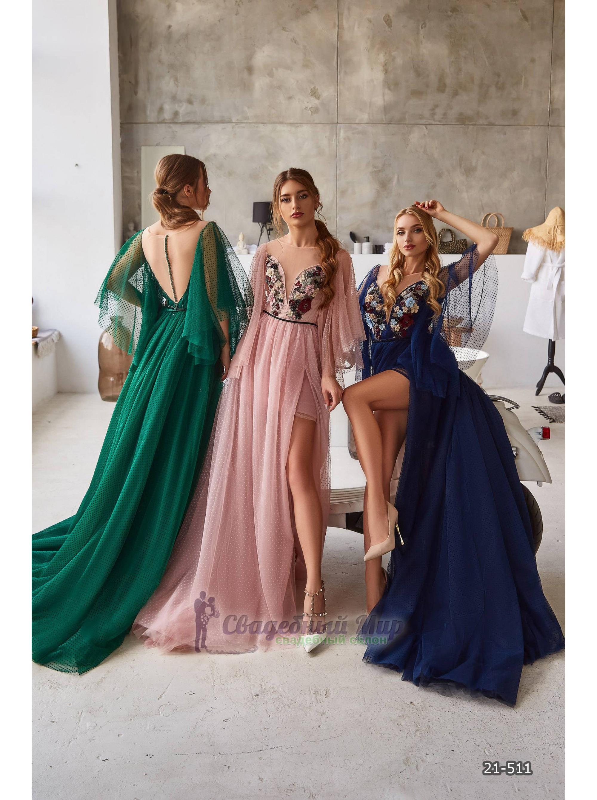 Вечернее платье 21-511